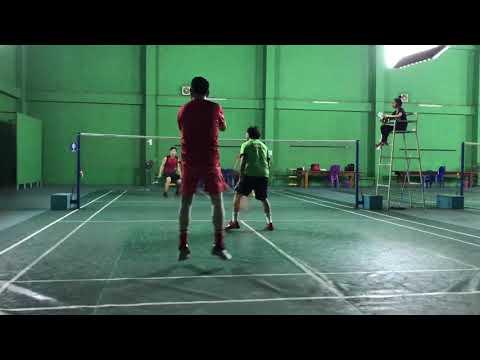 Friendly Badminton Match at STV Badminton Club - Vientiane Capital, Laos