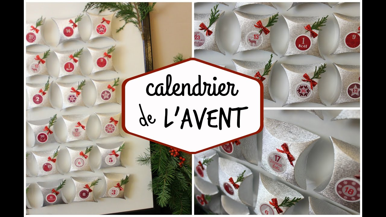 1 calendrier de l 39 avent class et r utilisable diy youtube