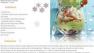 Verrine Avocat et Crevettes