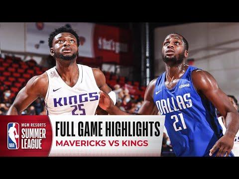 Download MAVERICKS at KINGS | NBA SUMMER LEAGUE | FULL GAME HIGHLIGHTS
