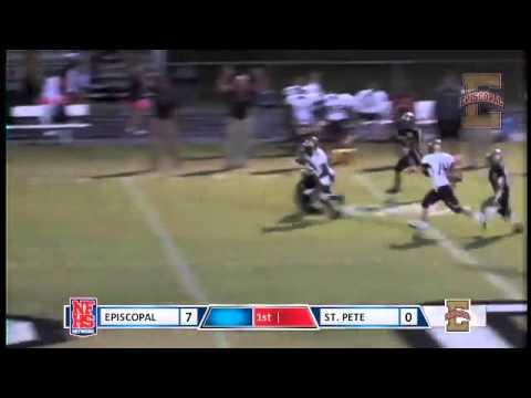 Episcopal school of Jacksonville #28 Daniel Fisher 96yd TD run