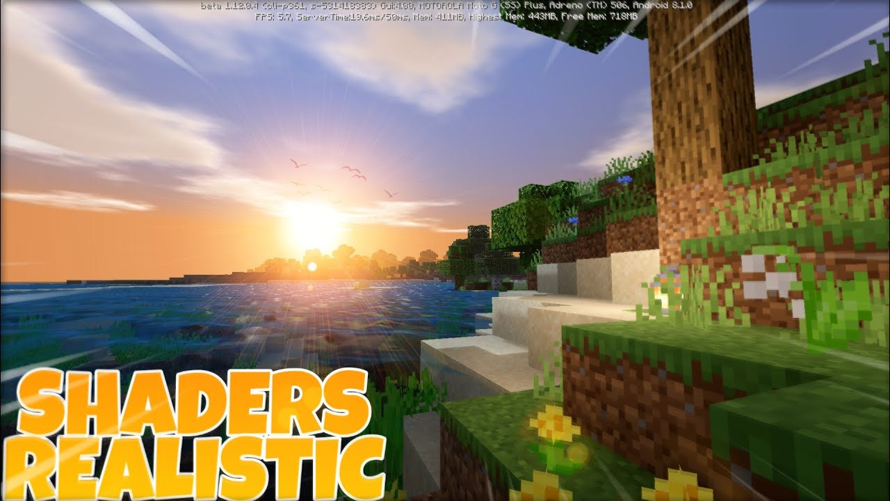 SHADERS MCPE 122.1222.122.122 PACK REALISTA LEVE TEXTURE PACK SHADERS MINECRAFT PE  122.1222.122.122 DOWNLOAD