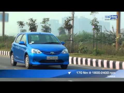 Toyota Etios Liva Diesel video and road test by CarToq.com