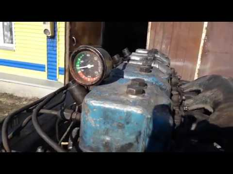 Установка турбины ТКР-7Н(Камаз) на Д-144
