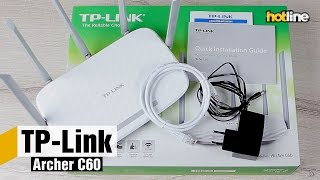 TP-Link Archer C60 — огляд маршрутизатора