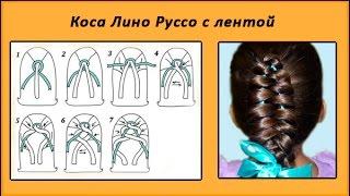 плетение волос видео для начинающих