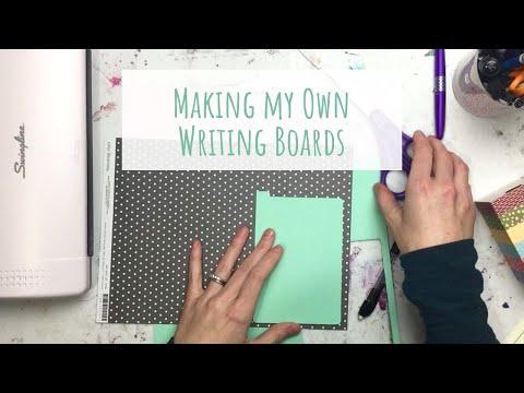 Making my Own Writing Boards   DIY Shitajiki