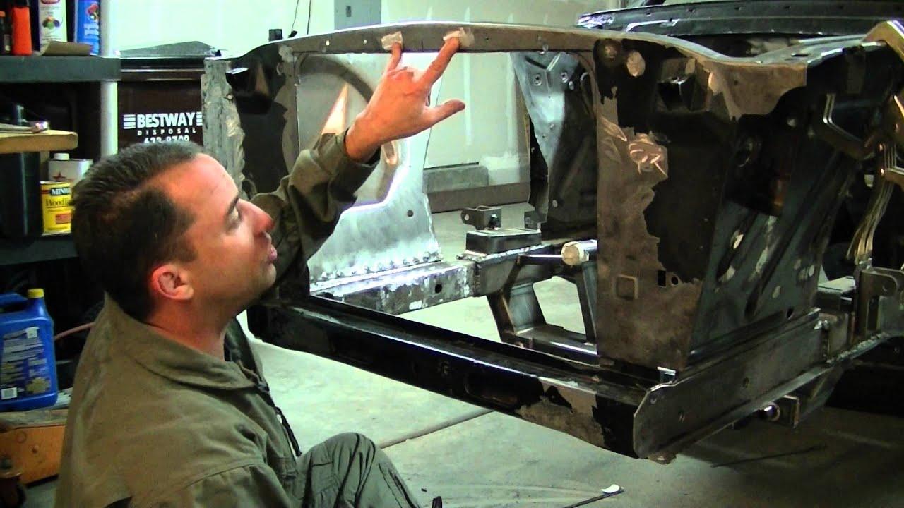 1965 Mustang Restoration Part 16 Fitting A Fox Body