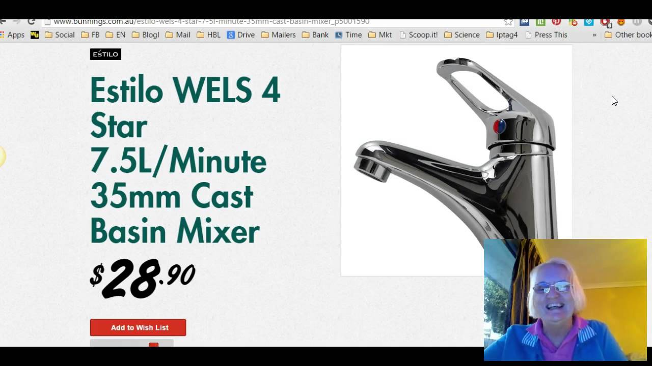how to fix a leaking mixer tap video