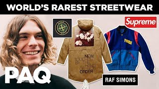 Finding the Worlds Rarest Streetwear (ft Pastelle, Raf Simons) | PAQ Ep #4 | A Show About Streetwear