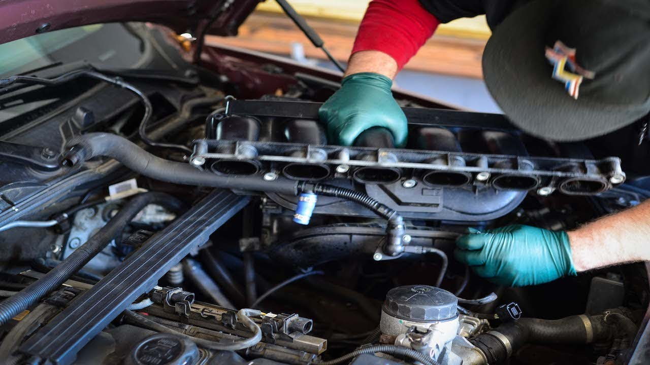 BMW N52 How To Replace CCV Intake Manifold Removal Step By Step Guide
