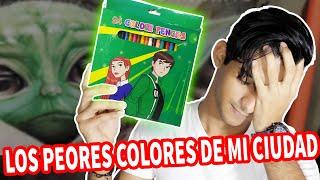 HAGO UN DIBUJO REALISTA CON LOS PEORES Y MAS BARATOS COLORES DE MI CIUDAD | Esteban Arts
