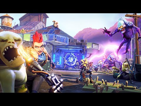 ZOMBIE INVASION!! (Fortnite Save the World)