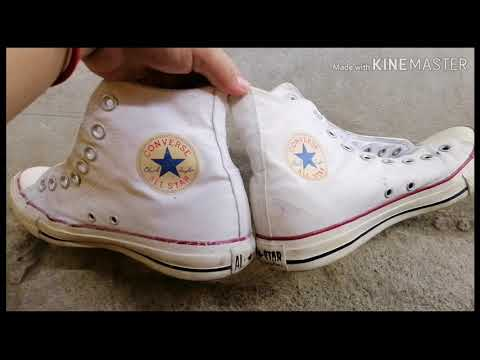 HOW TO WHITEN YOUR SHOES (USING BAKING SODA & HYDROGEN PEROXIDE)