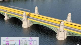 Massdot Longfellow Bridge Construction Animation