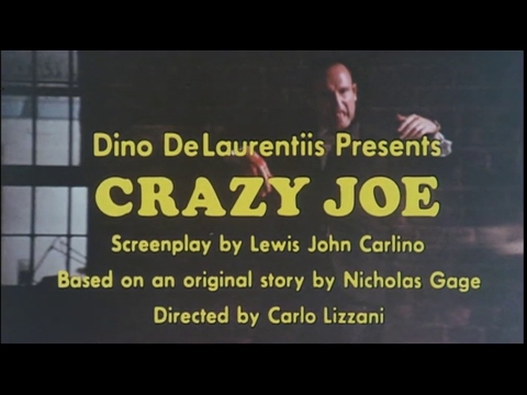 CRAZY JOE - (1974) Trailer