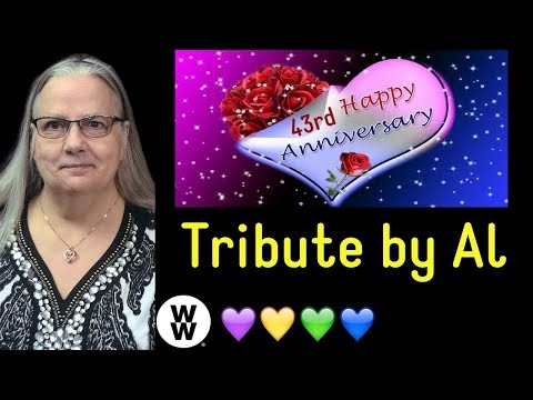 Dotti's Corner: 43rd Anniversary Tribute by my Husband, Al