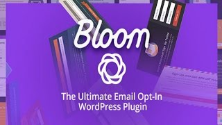 How To Use The Bloom Plugin By Elegant Themes | Add An Email opt-in Form To Your Wordpress Website thumbnail
