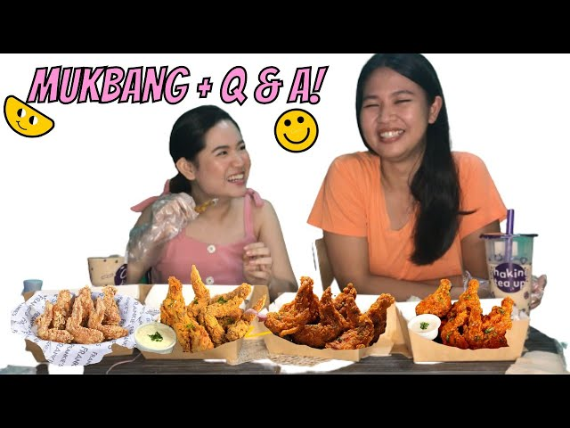 MUKBANG + GET TO KNOW US! by Jill and Jena