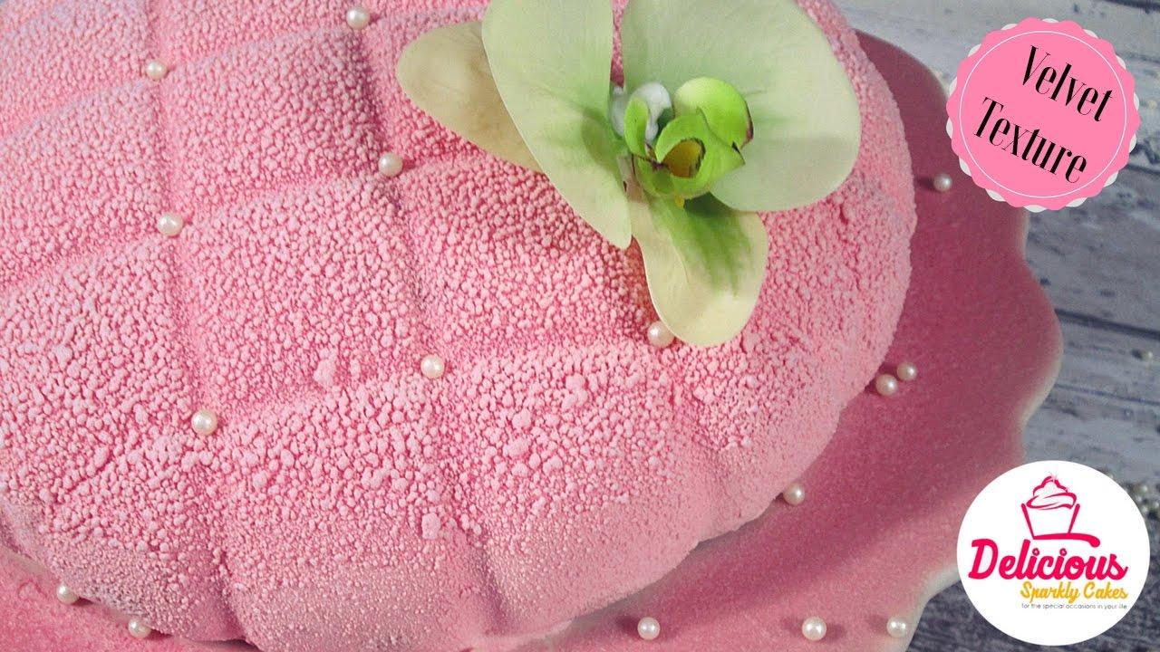 Velvet Spray For Cakes