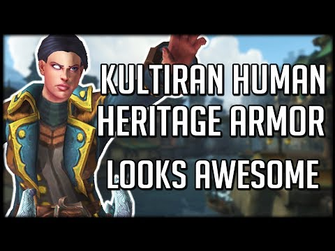 KUL'TIRAN HERITAGE ARMOR PREVIEW - BFA Armor Is Looking Good! | WoW Battle for Azeroth