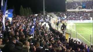Tribuna Petrignani - Lors du derby SC BASTIA - OGC NICE
