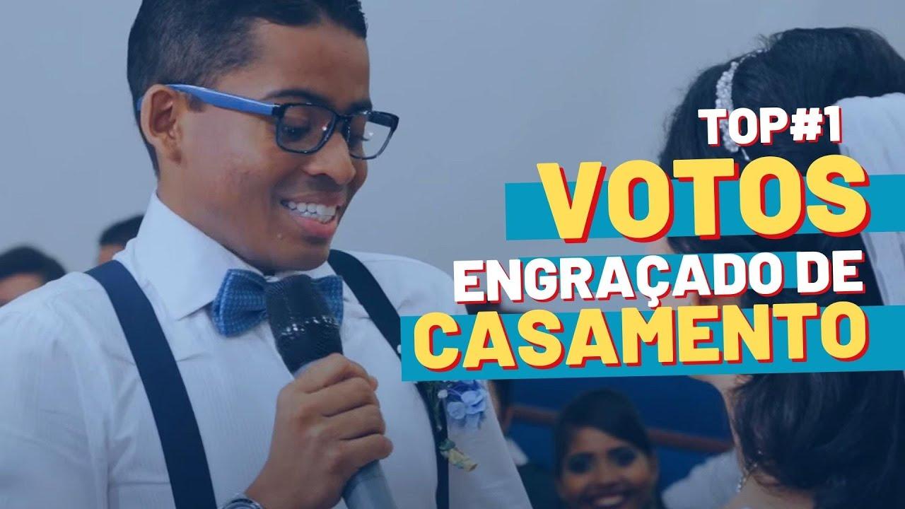 Fabuloso Os votos de casamento mais engraçado Gui + Jose - I have a dream  LB71