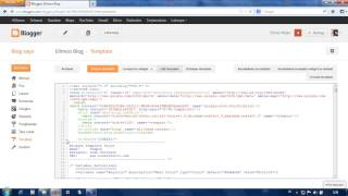 How To Show CSS Code On New Blogger Template HTML Editor