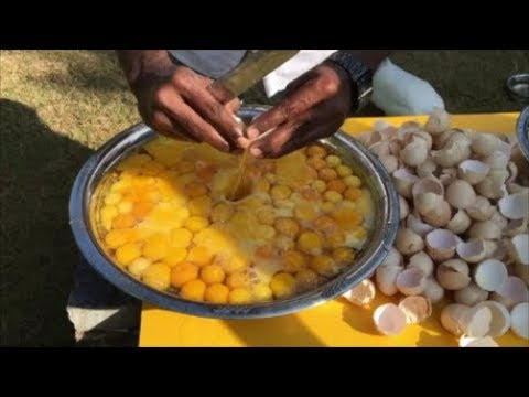 Thumbnail: Cooking 3 Chickens with 300 Eggs - Cooking for Our Village - Cooking 300 Country Chicken Eggs
