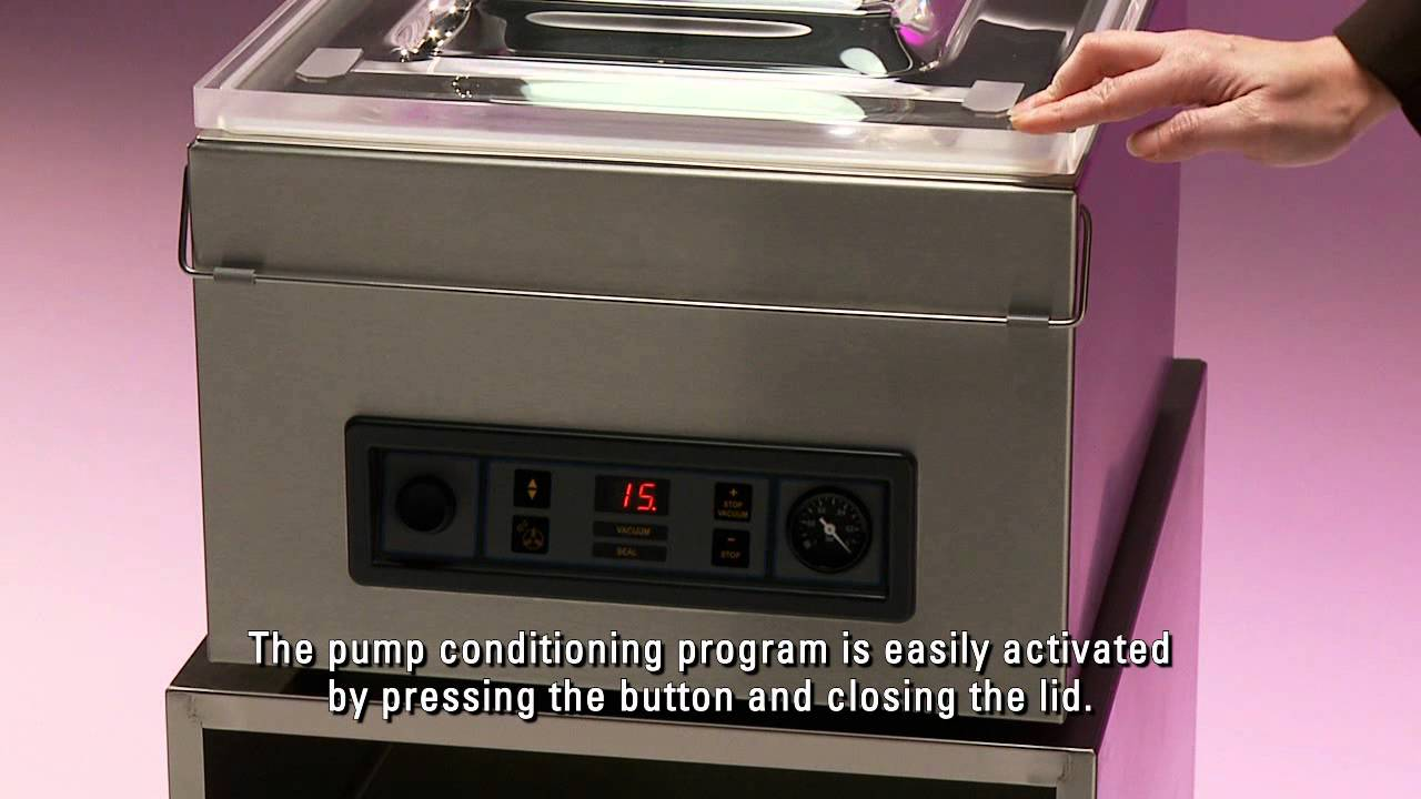 fe9d2e5dbb6 Henkelman vacuum packaging machine Jumbo 30 - YouTube