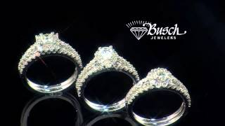 Busch Jewelers SB&T Holiday Floating Diamond Earrings