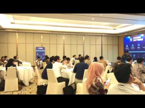 MC Full English for Driving Innovation in Lending Jakarta 2018