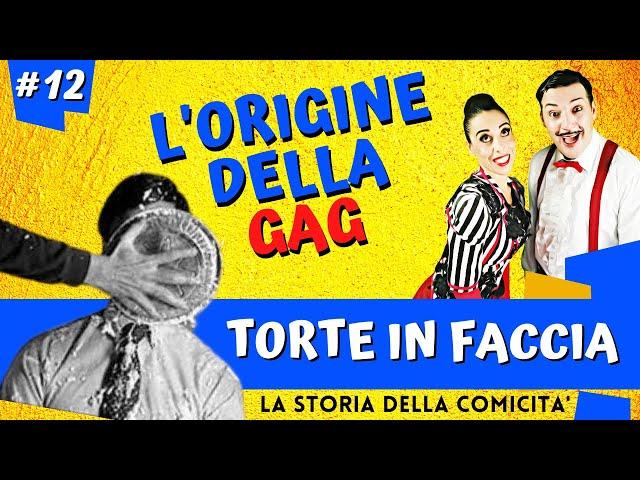 STORIA DELLA COMICITA' * Torte in Faccia  * con DANDY DANNO
