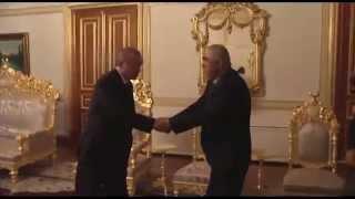 CumhurbaşkanıErdoğan Afganistan C BaşkanıYrd Dostum 39 u Mabeyn Köşkü nde kabul etti 24 04 15