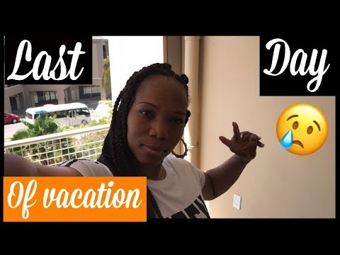 MY LAST DAY IN CURAÇAO 🇨🇼|| BLACK TRAVEL VLOGS 2018