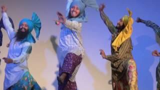 Jhoomer Bhangra|| Vanjali vja || Akhar || Amrinder Gill || PEC, Chandigarh || Raunkaan 2017