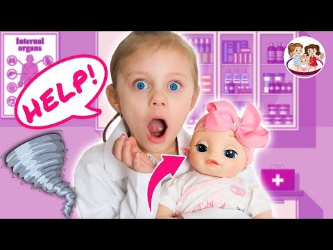 Can DOLL DOCTORS  Fix LIZZY'S Hearing Tornado Scare