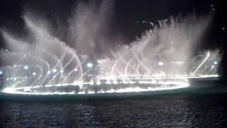 world biggest Fountain dance show in Dubai test show