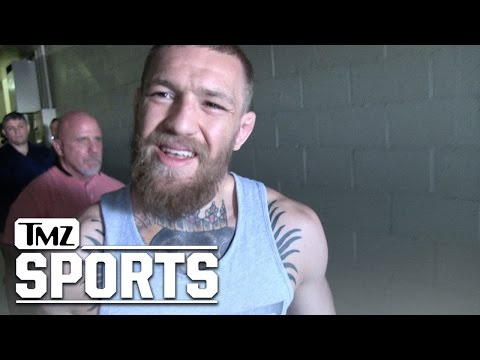 McGregor puts tmz reporter in his place