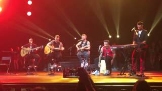 """Backstreet Boys """"In A World Like This"""" Live in Singapore - Full Acoustic Set + Banter"""