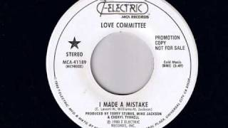 Love Committee - I Made a Mistake - Modern Soul Classics