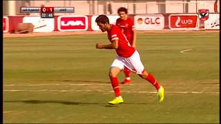 بالفيديو.. الأهلي يفوز وديا أمام شبين بهدفين استعدادا للقمة