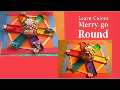 Learn Colors with a Merry-go-round
