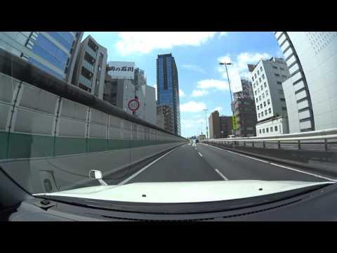 Tokyo drive 4K 東京 丸の内 山手通り 2017