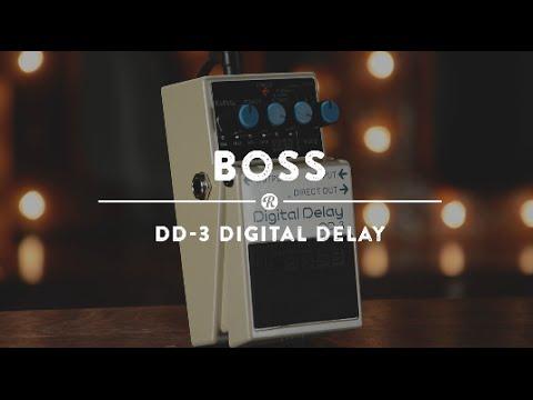 boss dd 3 digital delay reverb demo video youtube. Black Bedroom Furniture Sets. Home Design Ideas