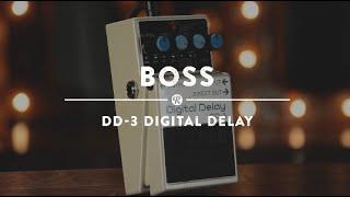 Boss DD-3 Dijital Delay | Reverb Demo Video