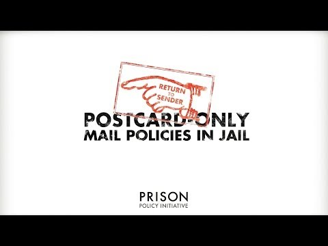 Why Jails Should Not Ban Letters From Home
