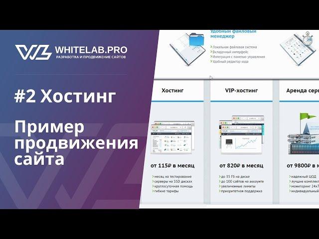 Урок #2 Хостинг (выбор, DNS, HTTPS, привязка)