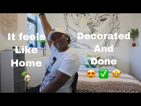 My Decorated Room Tour | Uni Accommodations At Goldsmiths
