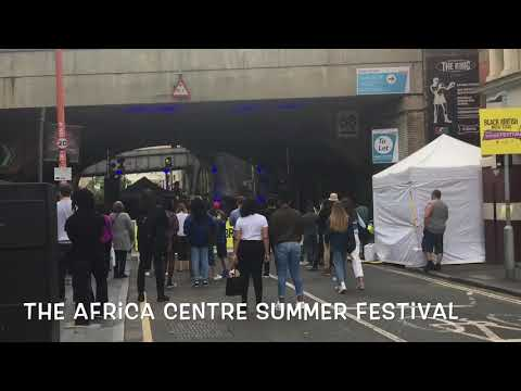 Londoners Come Together To Celebrate African Culture In Southwark
